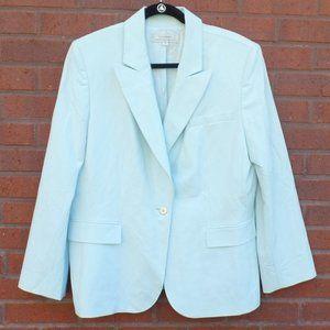 Tahari Light Blue Button Blazer Jacket Plus 18